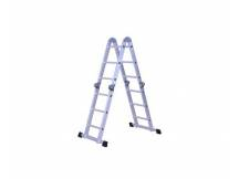Escalera andamio 12 escalones de aluminio