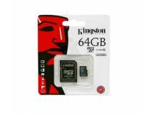 Memoria micro SDHC kingston 64GB clase 10