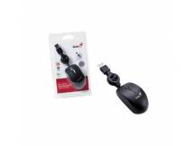 Mini Mouse Genius Retractil USB negro