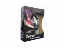 Mouse optico Xtreme negro plata USB