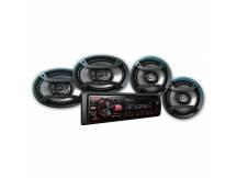 Autoradio Pioneer multimedia con 4 parlantes