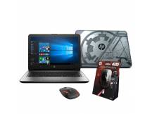 Notebook HP QuadCore 1.8Ghz, 4GB, 32GB, 14'' HD, mouse