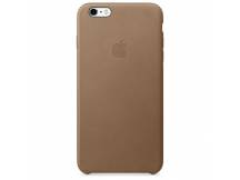 Estuche original iPhone 6S Plus cuero marron