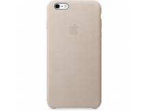 Estuche original iPhone 6S Plus cuero gris