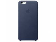 Estuche original iPhone 6S Plus silicona azul