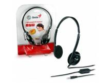Audifonos c/microfono Genius HS-M200C Single Jack 3.5 mm