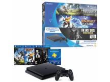 Consola Playstation 4 500GB Slim con 3 juegos