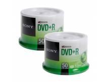DVD+R 16X Sony bulk X 100 unidades