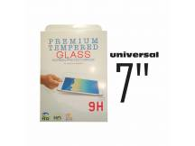 Vidrio Templado Universal 7.0 para tablet