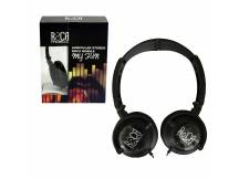 Auriculares Stereo Roca color Negro