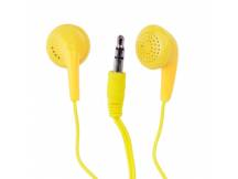 Auriculares Vibe intra amarillo