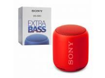 Parlantes Sony ExtraBASS bluetooth portatil rojo
