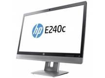 Monitor LCD 24 grado A+ negro plata