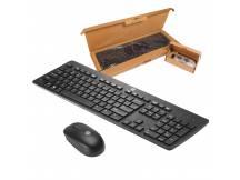 Combo teclado y mouse inalambricos HP