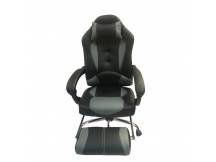 Silla Gamer Strong reclinable Negro/gris
