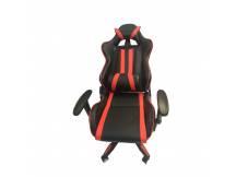 Silla Gamer Mega Racing II Negro/rojo