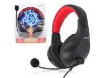 Audifonos c/microfono Genius HS-520 negro