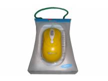 Mini mouse optico Xtreme USB amarillo