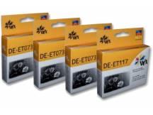 Pack de 50 cartuchos Epson t23 / t24 / tx105 / tx115 / negro t117