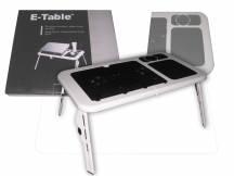 Mesa bandeja cooler plegable con fan para laptop
