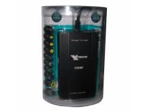 Cargador universal para notebook 100w + USB + auto
