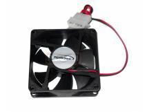 Fancooler ventilador 8x8 cm negro