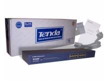 Switch 16 puertos 10/100 tenda rackeable