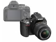 Camara Nikon D5200, 24mp, lente 18-55, Reflex
