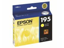 Cartucho Epson original t195420 amarillo