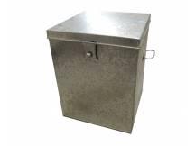 Caja metalica mediana con soporte para candado