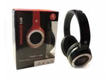 Auricular con reproductor MP3 micro SD negro