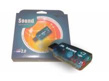 Adaptador / tarjeta de sonido USB 2.0