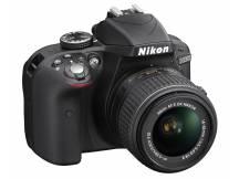 Camara Nikon D3300, 24mp, lente 18-55, reflex profesional