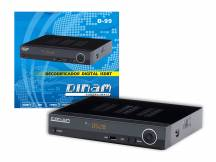 Sintonizador digital ISDB-T Dinam D-99 FULL HD
