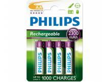 Pila recargable Philips AA 2300mah