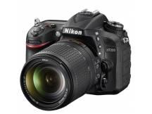 Camara Nikon D7200, 24mp, lente 18-140mm