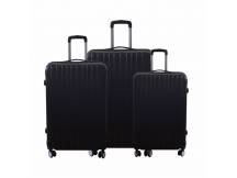 Set de 3 valijas rigidas negras