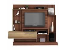 Rack Supremo para TV color nogal y teka