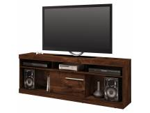 Rack Havana para TV movil color rustico malbec