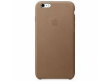 Estuche original iPhone 6S Plus cuero marron