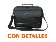Bolso Bluecase para laptop hasta 17.3´´ tipo portafolios con detalles