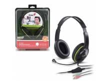 Audifonos c/microfono Genius HS-400A verde