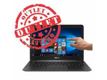 Ultrabook Asus Zenbook Core M3 2.2Ghz, 8GB, 256GB SSD, 13.3 Touch QHD, Aluminio (con detalles)