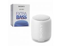 Parlantes Sony ExtraBASS bluetooth portatil blanco