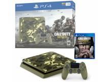 Consola Playstation 4 1TB Slim Call of Duty WWII