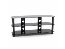 Mesa de acero y vidrio para TV led/lcd hasta 50