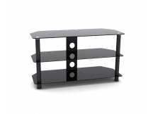 Mesa de acero y vidrio para TV led/lcd hasta 42