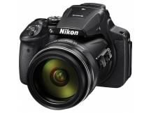 Camara Nikon P900, 16MP, 83x Zoom, Wifi, NFC, GPS