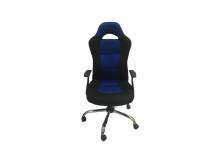 Silla Gamer Delta Force III Negro/azul