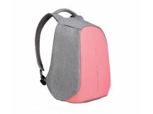 Mochila anti robo 14 colores rosa-gris
